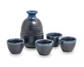 zestaw do sake EDO dla 4 osób