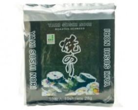 Glony do sushi – Yaki nori silver – 25 g -10 listków