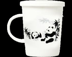 Kubek japoński Panda 300 ml, 10,5 x 12 cm