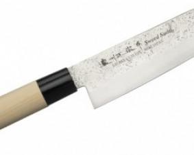 Nóż Satake Nashiji Natural Santoku 17 cm