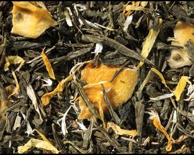 Herbata zielona Sencha z mango premium 1kg.
