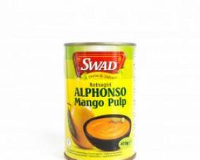 Pulpa mango Swad 450 g .