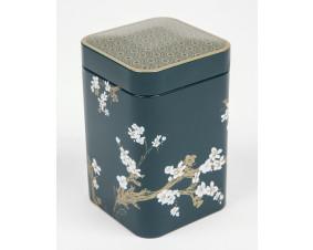 Hermetyczna puszka na herbatę Sakura zielona 125 g