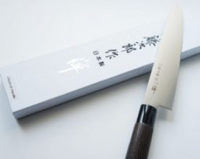 Nóż szefa kuchni Tojiro Zen Kasztan 18 cm