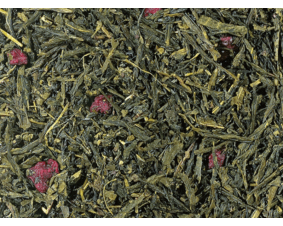 Herbata zielona Sencha wiśniowa premium 1 Kg.