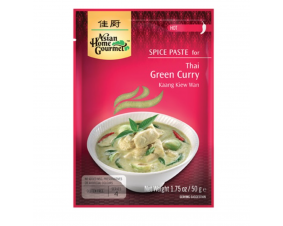 Pasta zielone curry AHG 50 g.