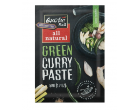 Pasta zielone curry Exotic Food 50 g.