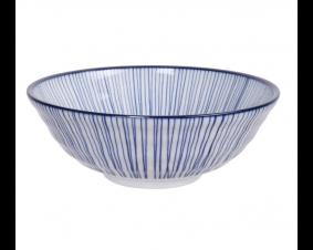 Ceramiczna miska do ramenu Blue 21,5 x 7 cm