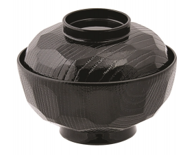 miska do miso czarna połysk 300 ml