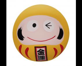 Daruma -figurka żółta 6,5 cm