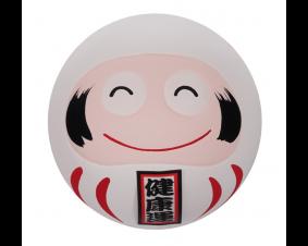 Daruma - Figurka biała 6,5 cm
